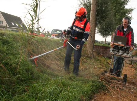 Maatregelen na ongeval met bosmaaier